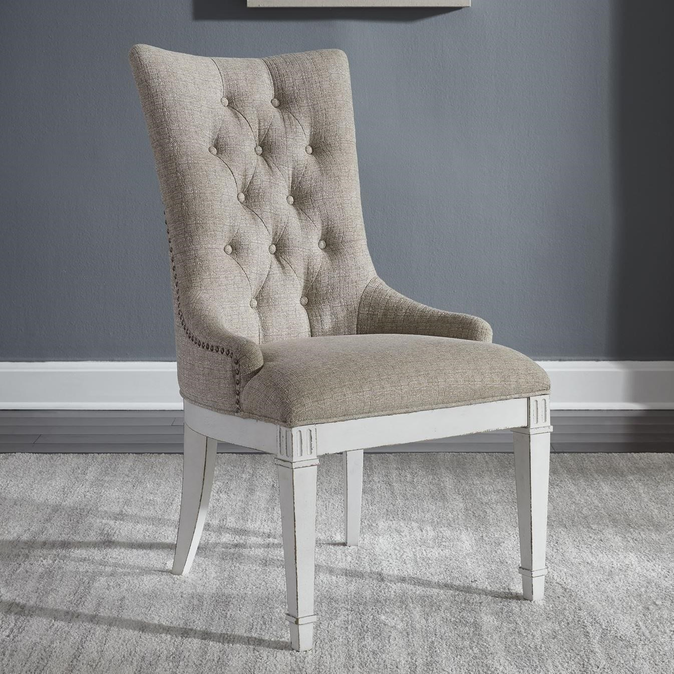 Abbey Park Hostess Chair by Liberty Furniture at Esprit Decor Home Furnishings