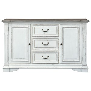 Traditional Buffet with 2 Doors