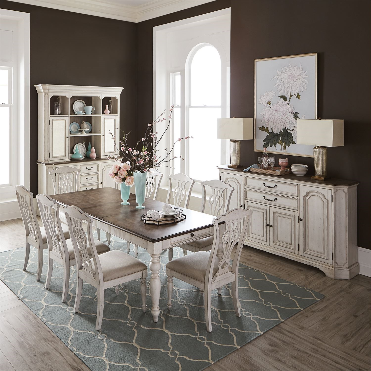 Abbey Road Formal Dining Room Group by Liberty Furniture at Catalog Outlet