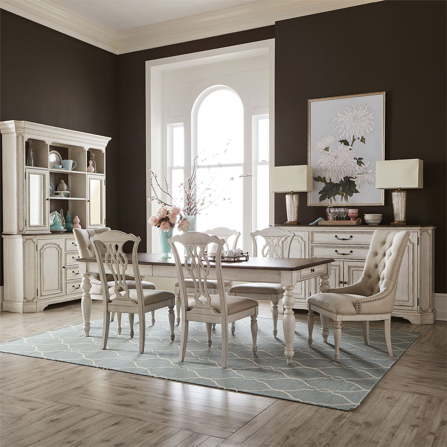 Abbey Road Formal Dining Room Group by Liberty Furniture at Upper Room Home Furnishings