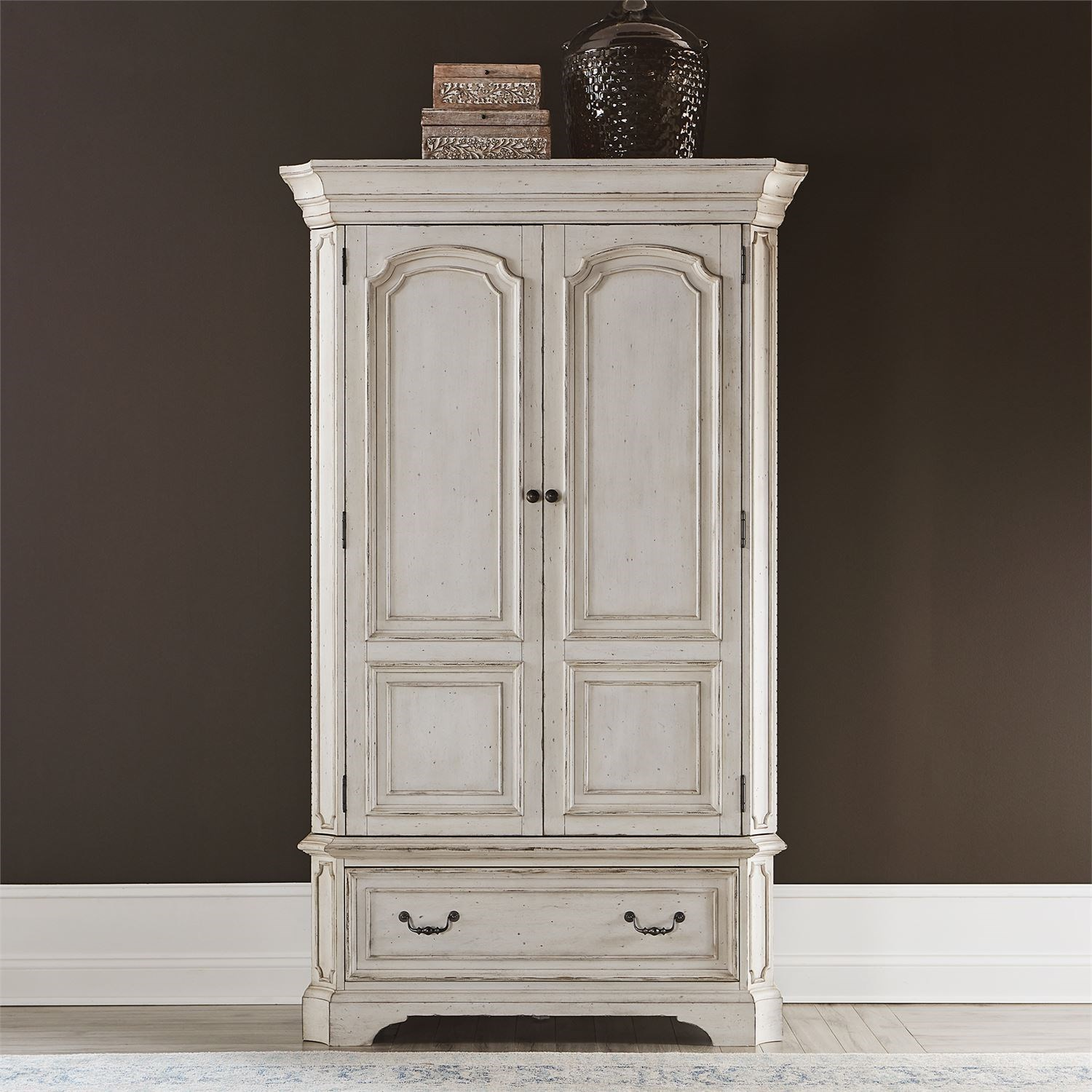 Abbey Road Armoire by Liberty Furniture at Suburban Furniture