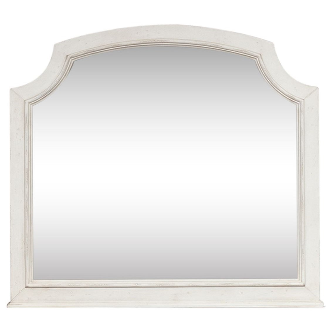 Abbey Road Arched Mirror by Liberty Furniture at Adcock Furniture