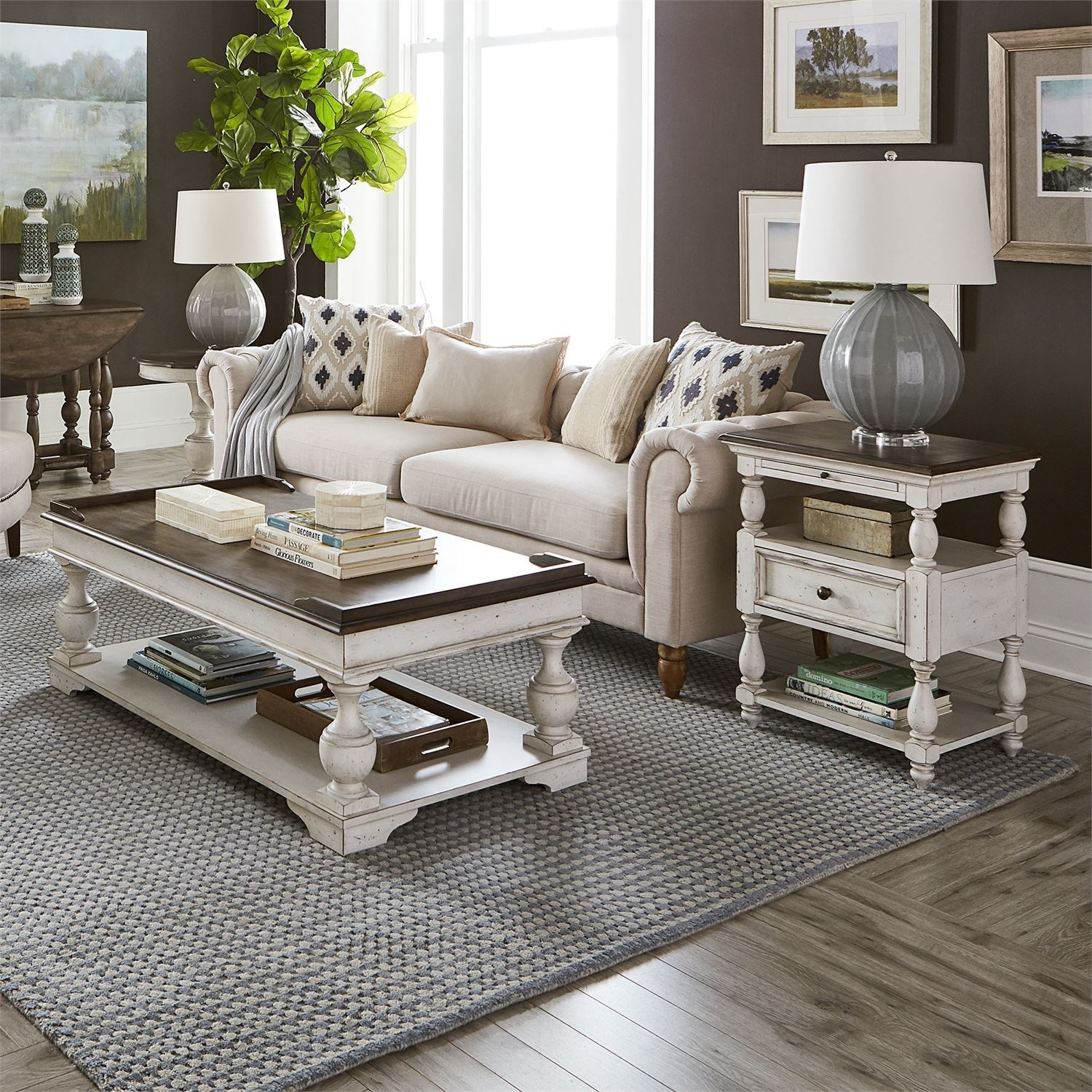 Abbey Road 3-Piece Set by Liberty Furniture at Home Collections Furniture