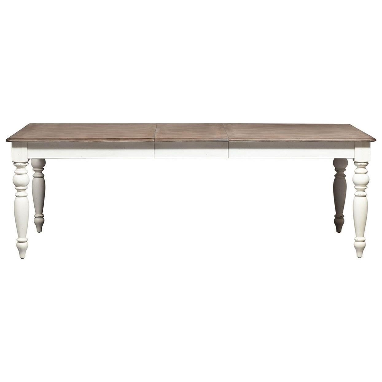 Abbey Road Rectangular Leg Table by Liberty Furniture at Corner Furniture