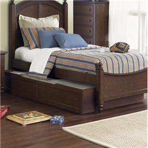 Liberty Furniture Abbott Ridge Youth Bedroom Twin Trundle Unit