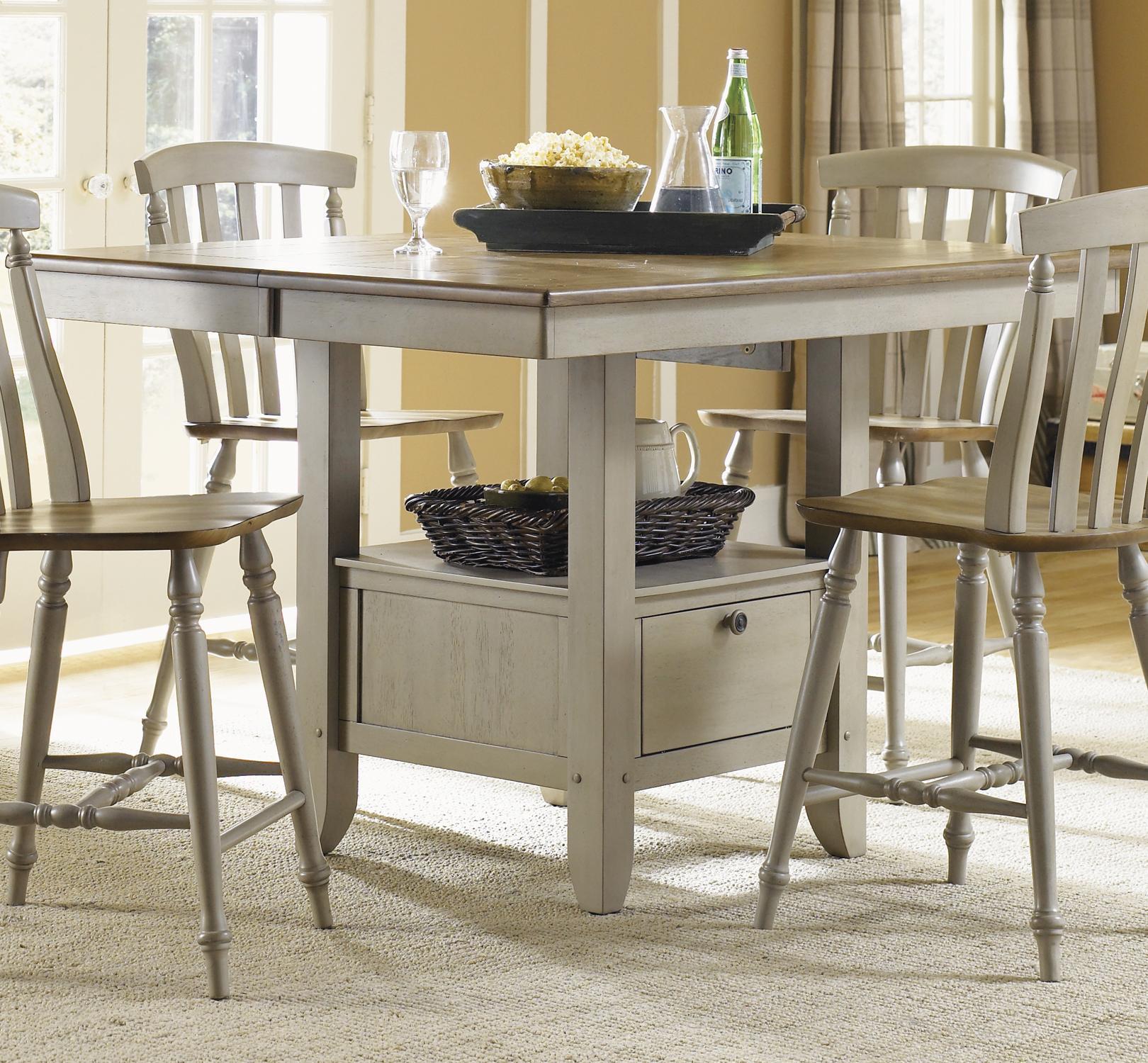 Al Fresco Gathering Table by Liberty Furniture at Lapeer Furniture & Mattress Center