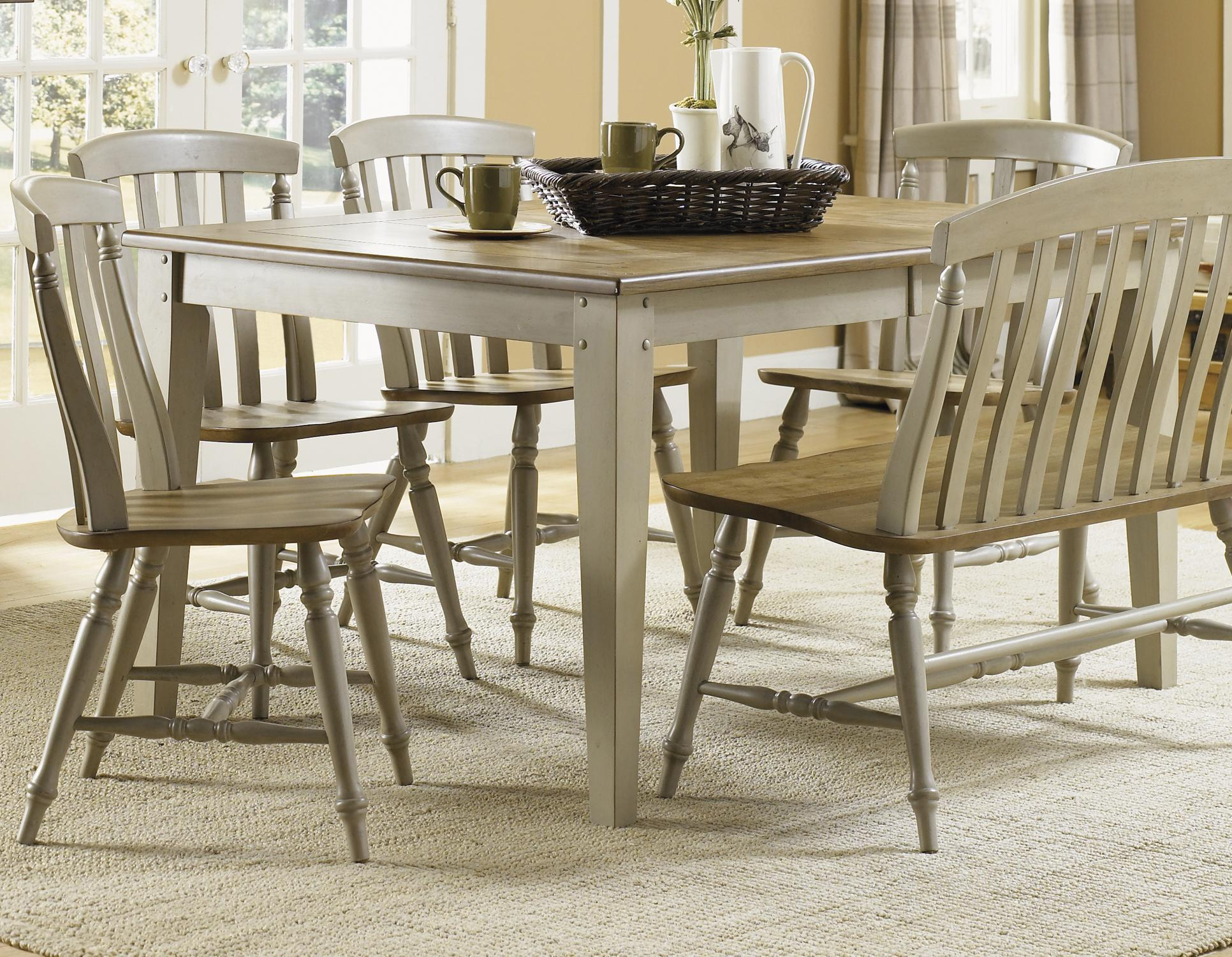 Al Fresco 5 Piece Dining Table Set by Liberty Furniture at Pilgrim Furniture City