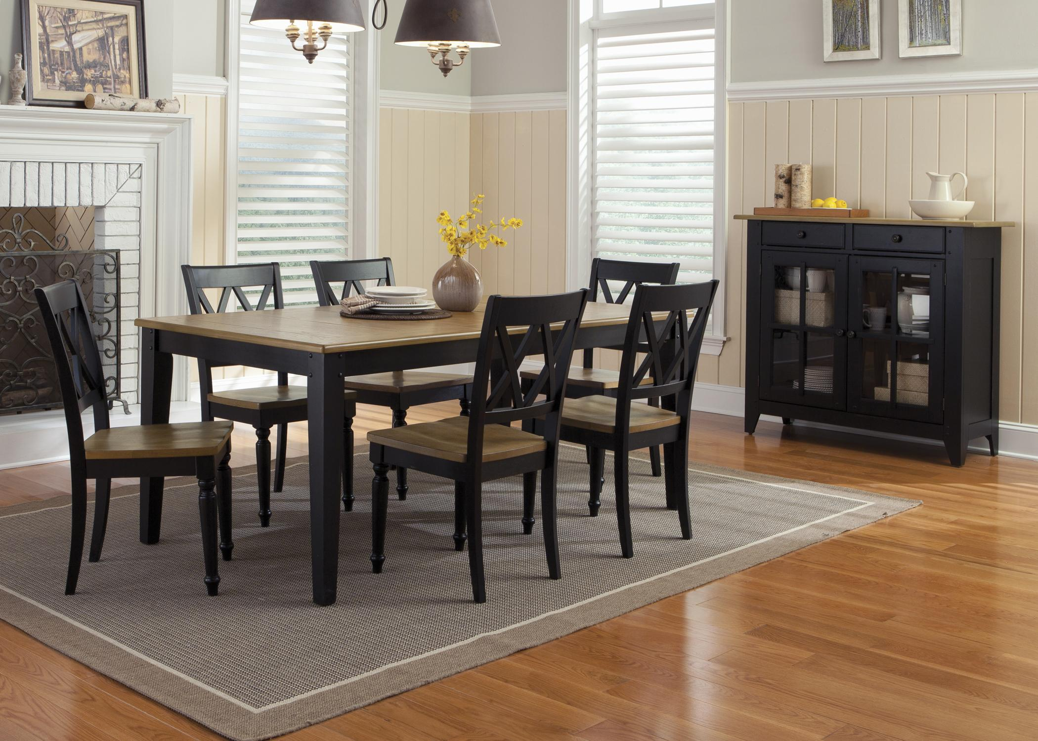 Al Fresco II Dining Room Group 2 by Liberty Furniture at Lapeer Furniture & Mattress Center