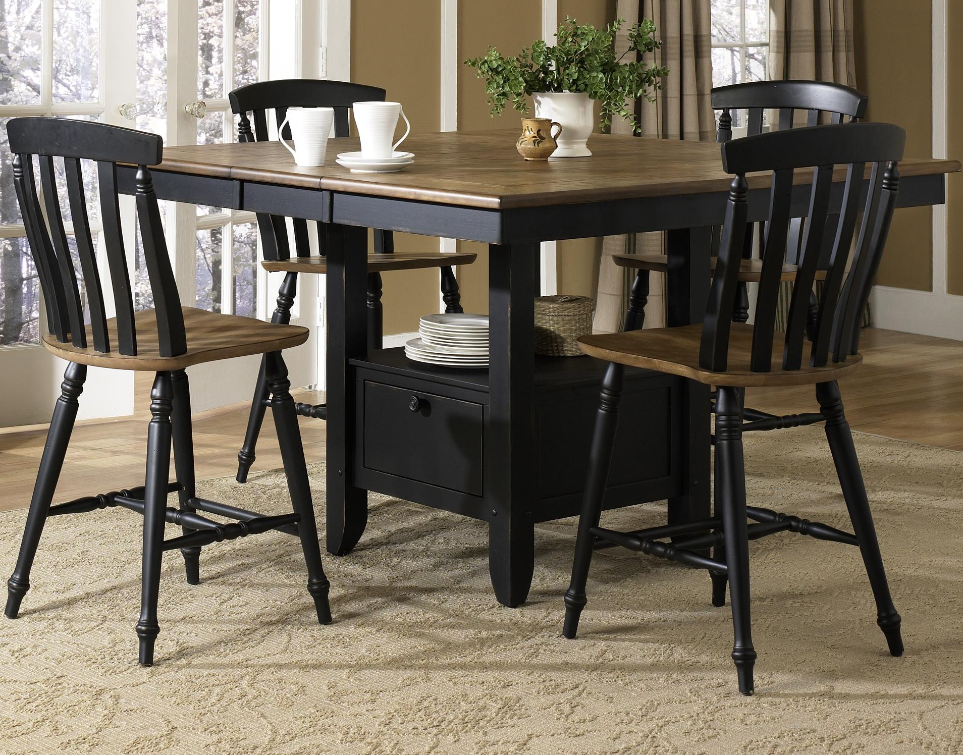 Al Fresco II 5 Piece Gathering Table and Chairs Set by Liberty Furniture at Lapeer Furniture & Mattress Center