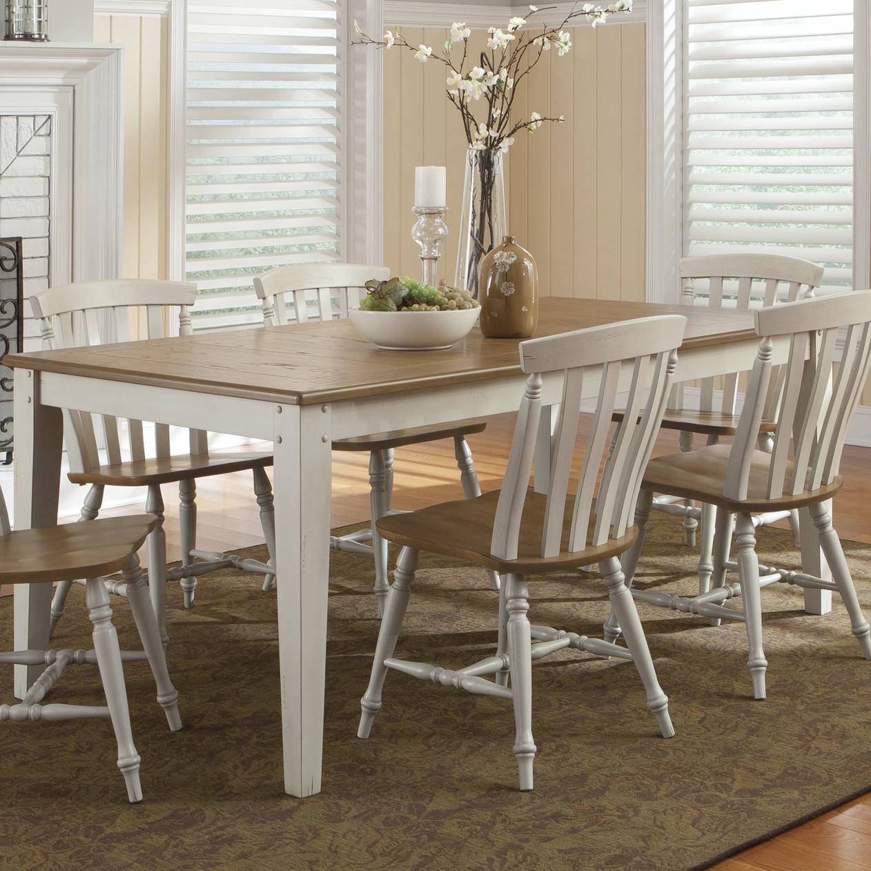 Al Fresco III Rectangular Leg Table by Liberty Furniture at Steger's Furniture