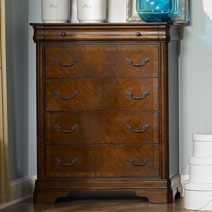 Traditional Chest with Drawers