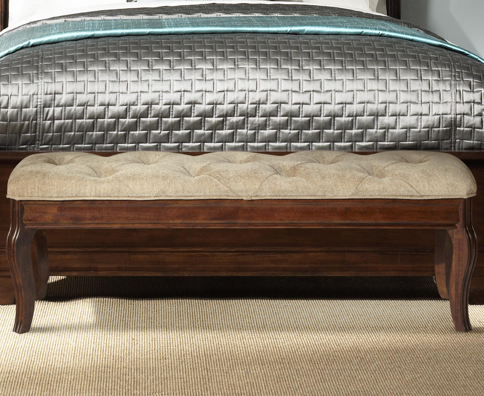 Alexandria Bed Bench by Liberty Furniture at Lapeer Furniture & Mattress Center