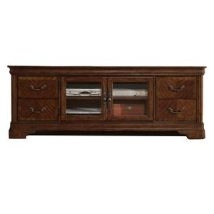 2 Door Entertainment TV Stand with Drawers