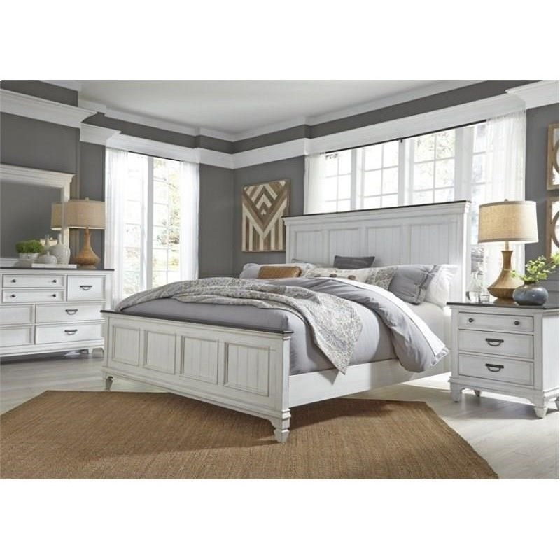 Allyson Park King Bedroom Group by Liberty Furniture at Suburban Furniture