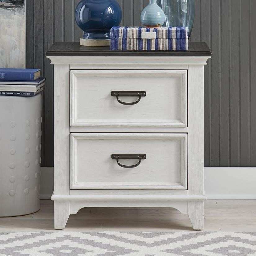 Allyson Park Nightstand by Liberty Furniture at Catalog Outlet