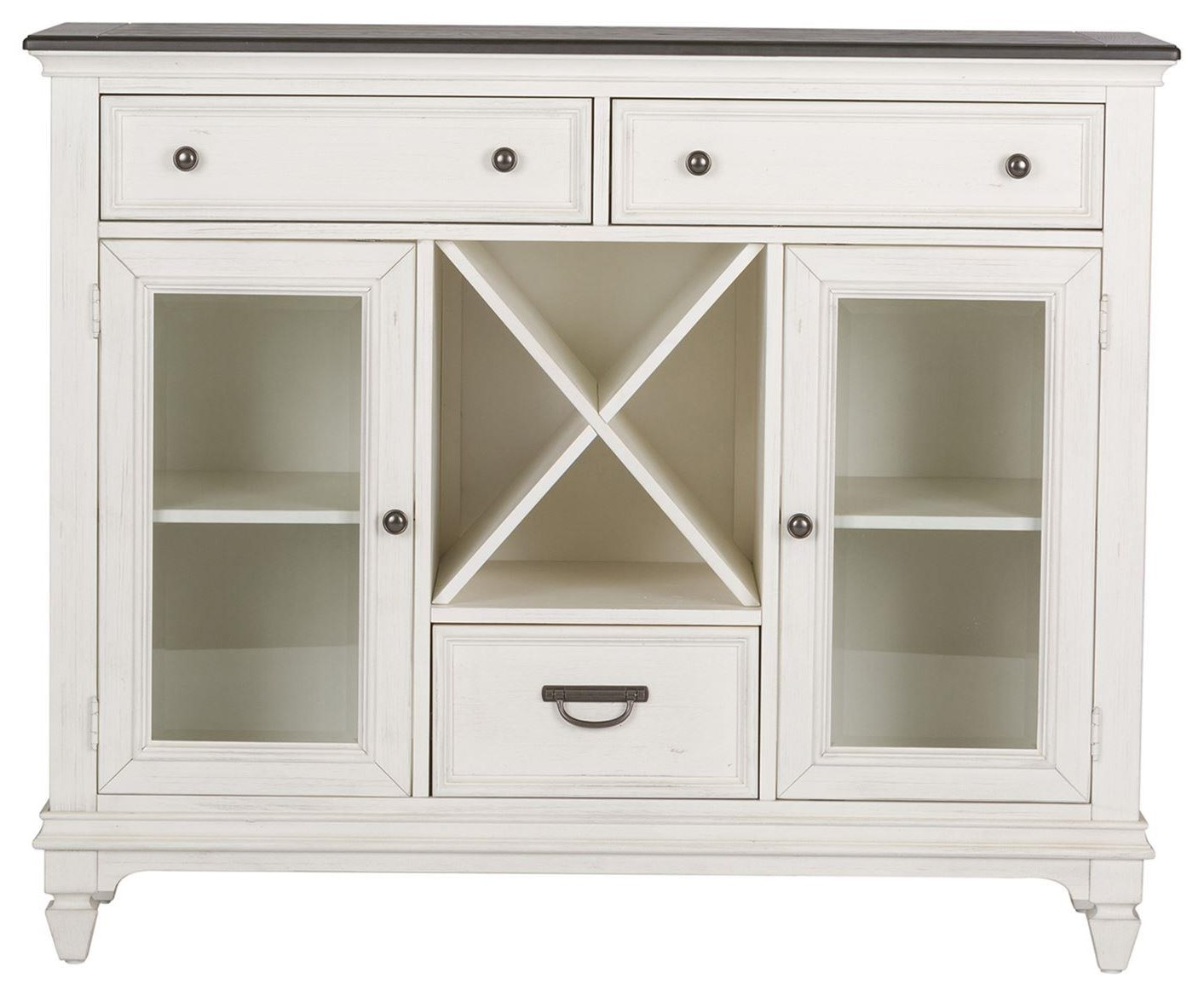 Allyson Park 3 Drawer 2 Door Buffet by Freedom Furniture at Ruby Gordon Home