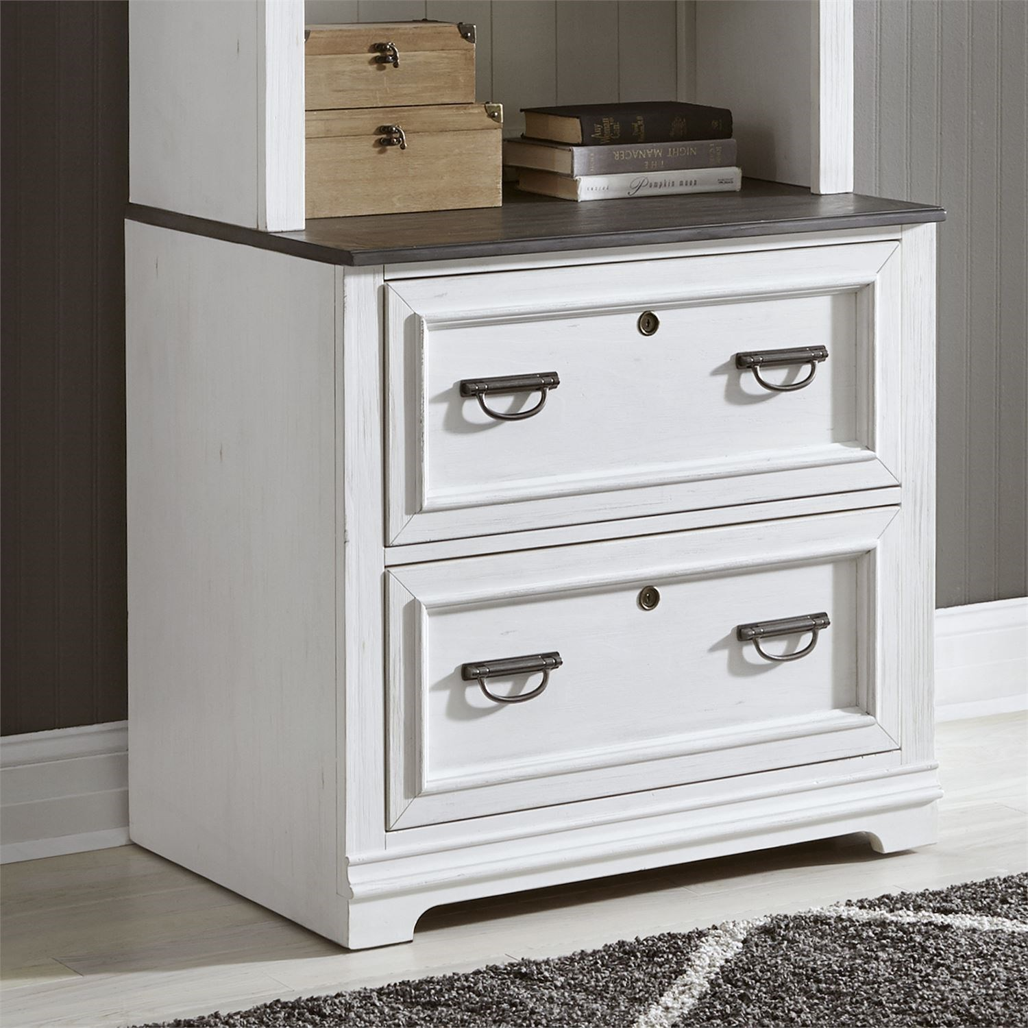 Allyson Park Lateral File by Liberty Furniture at Catalog Outlet