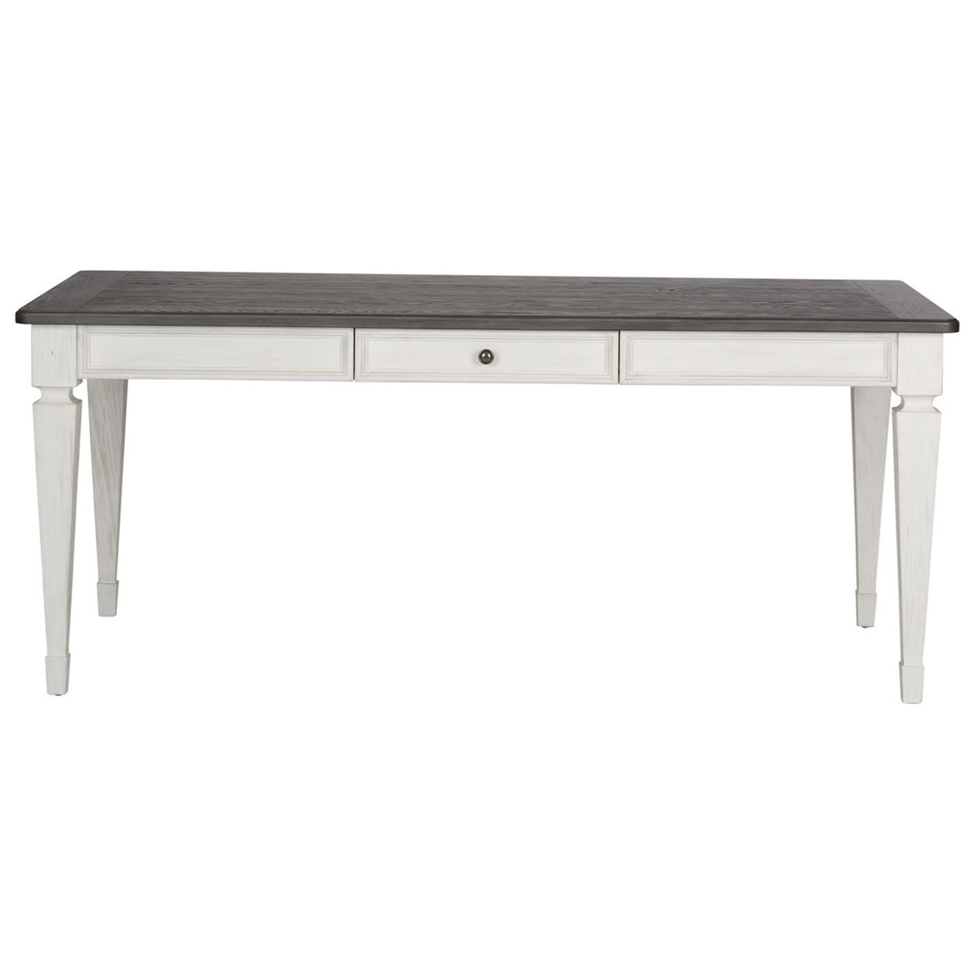 Allyson Park 4 Drawer Rectangular Leg Table by Liberty Furniture at Darvin Furniture