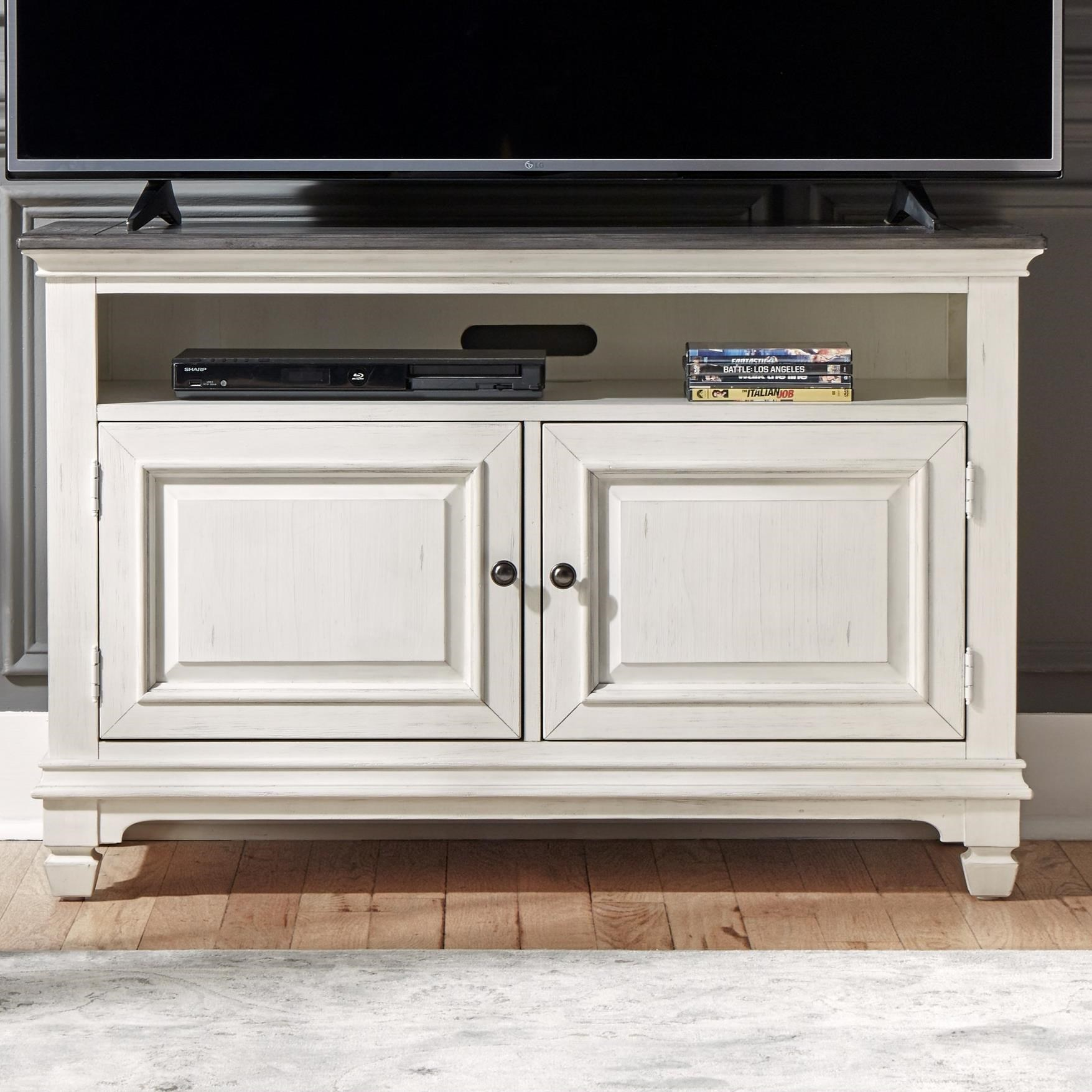 "Allyson Park 46"" TV Console by Liberty Furniture at Suburban Furniture"