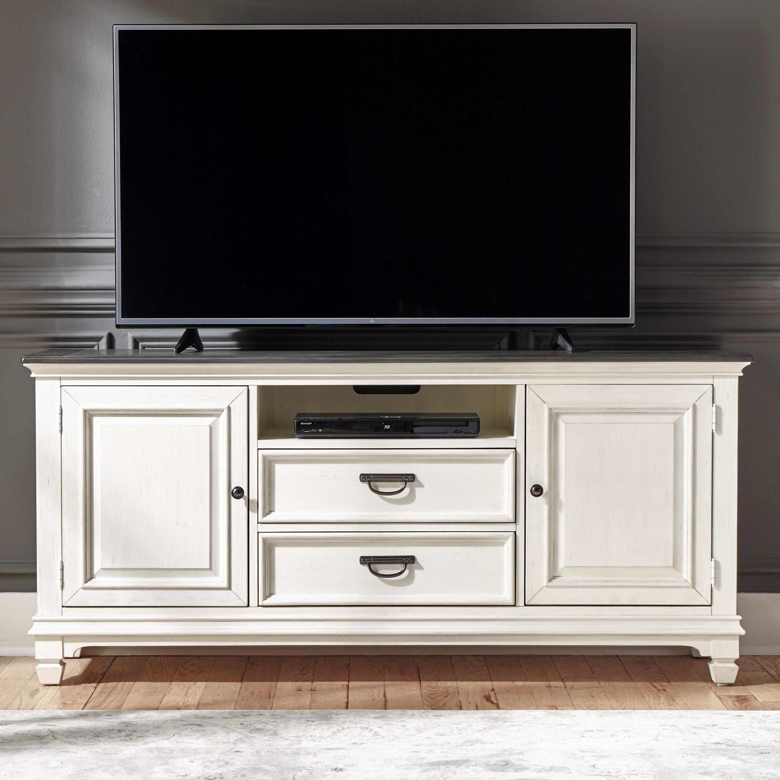 """Allyson Park 66"""" TV Console by Liberty Furniture at Catalog Outlet"""