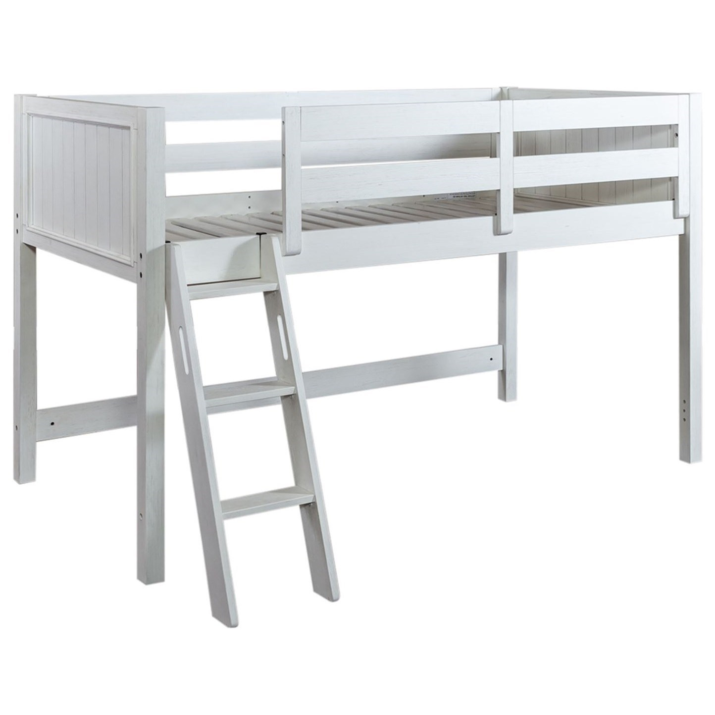 Allyson Park Twin Loft Bed Open by Liberty Furniture at Van Hill Furniture