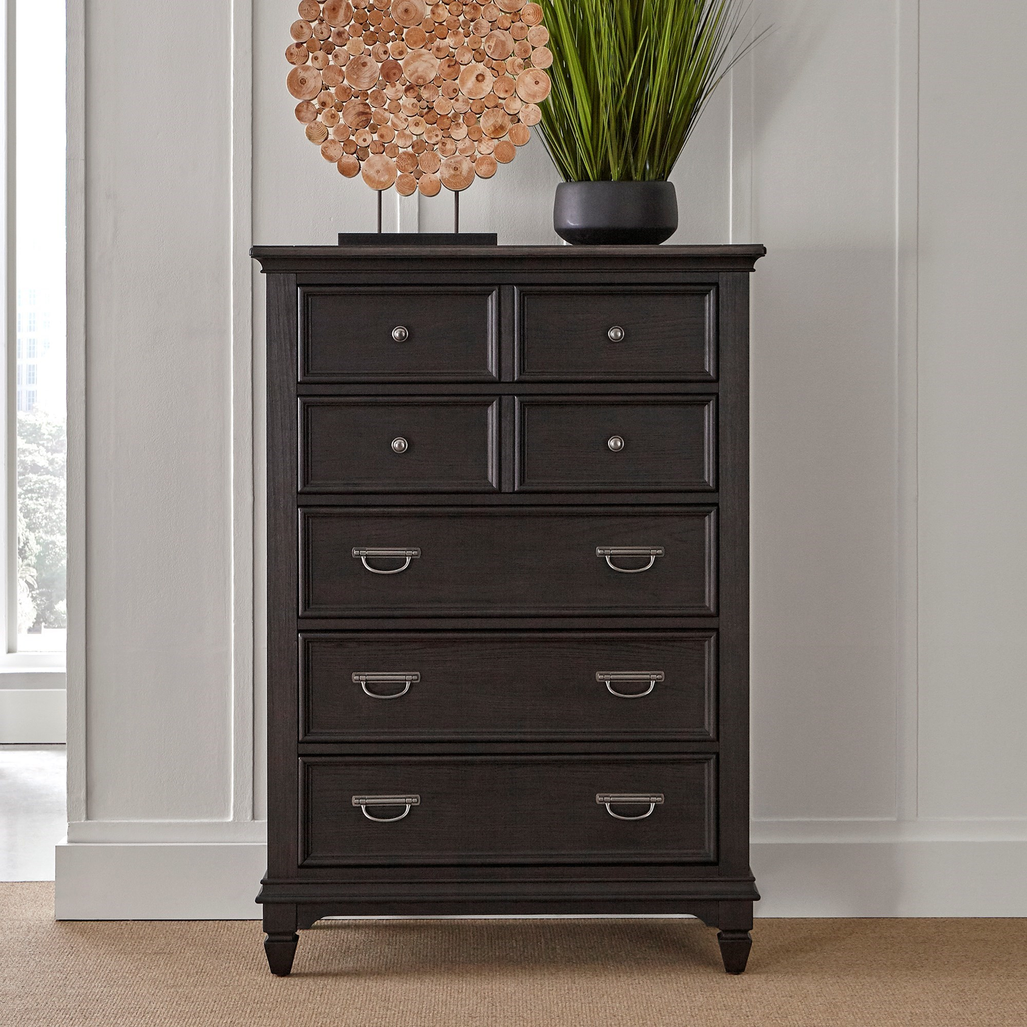 Allyson Park 5 Drawer Chest by Libby at Walker's Furniture
