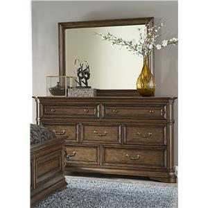 Liberty Furniture Amelia Dresser and Mirror