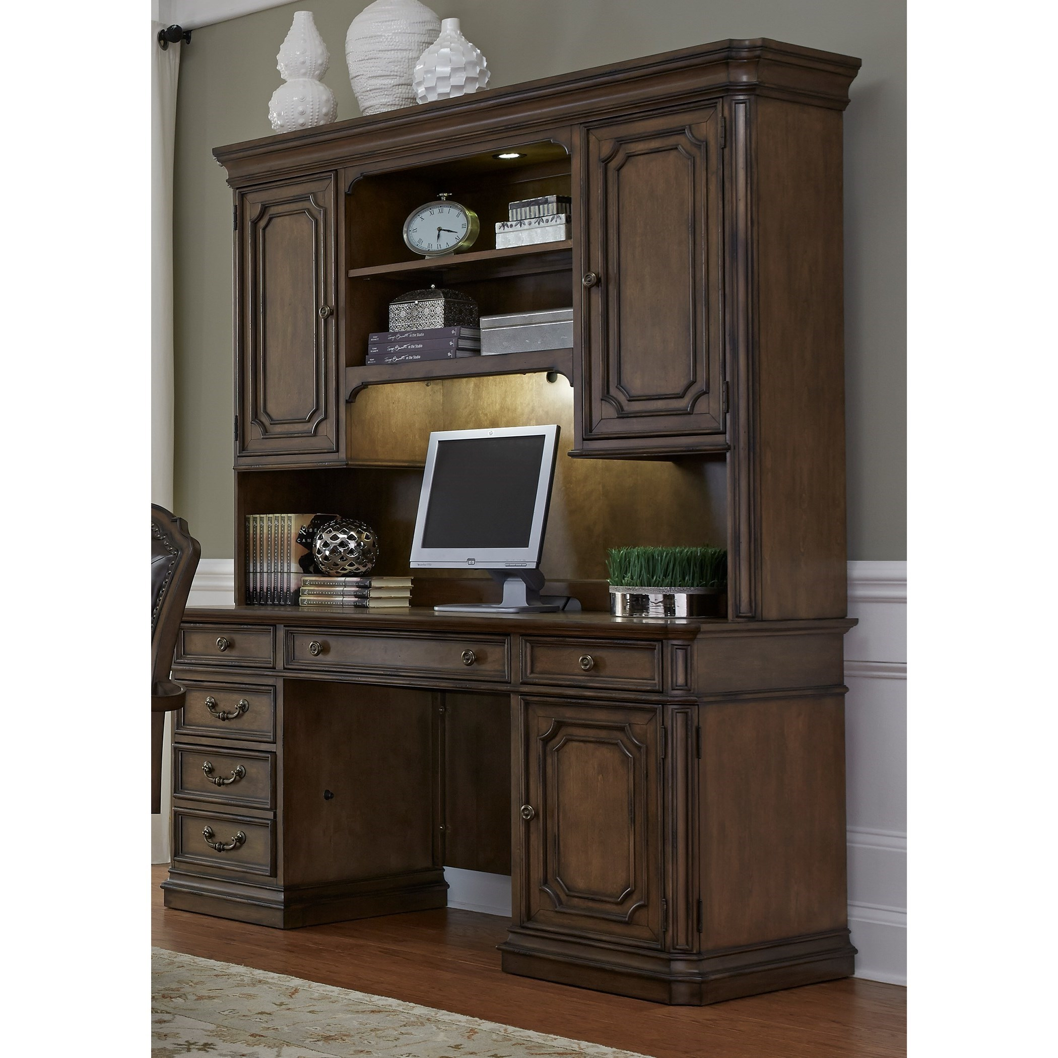 Amelia Home Office Jr Executive Credenza  by Freedom Furniture at Ruby Gordon Home