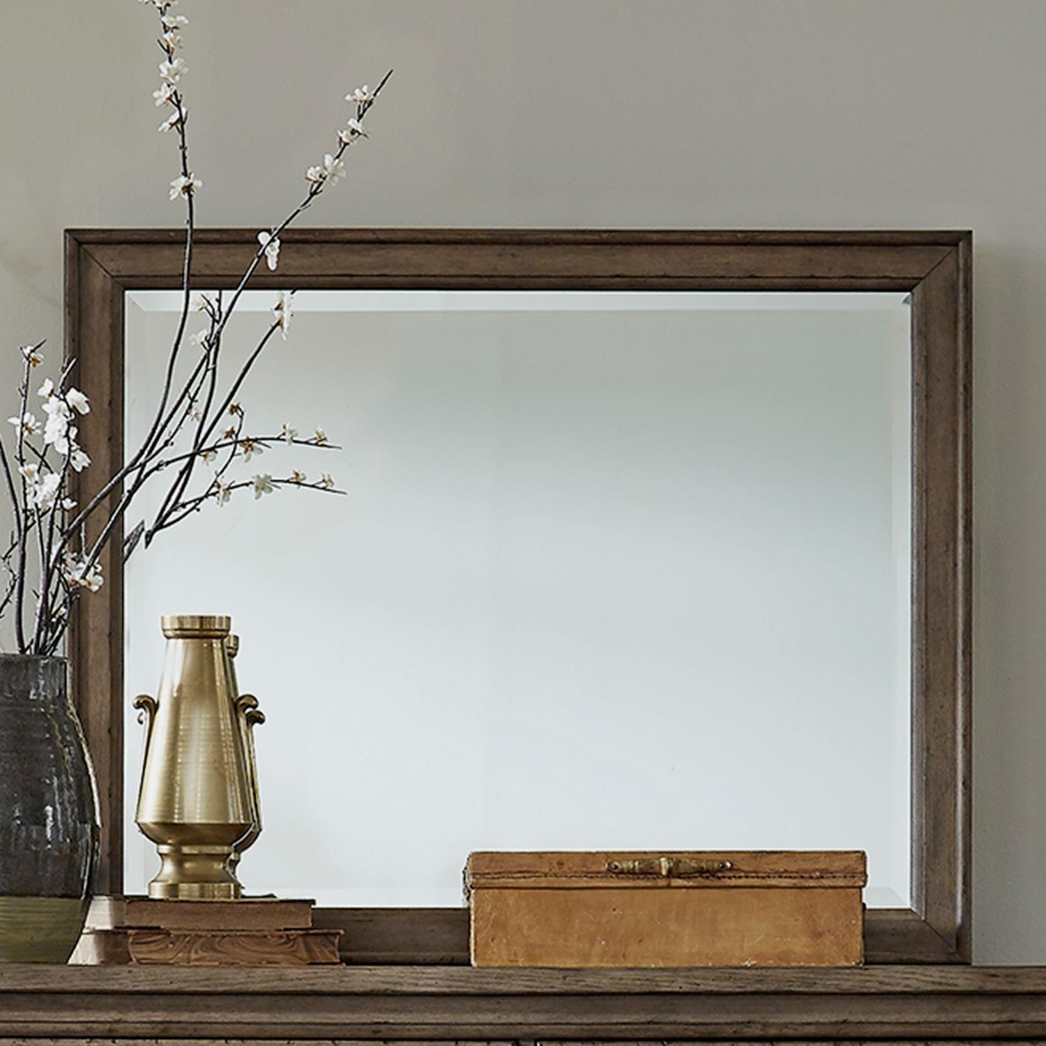 Americana Farmhouse Landscape Mirror by Liberty Furniture at Johnny Janosik