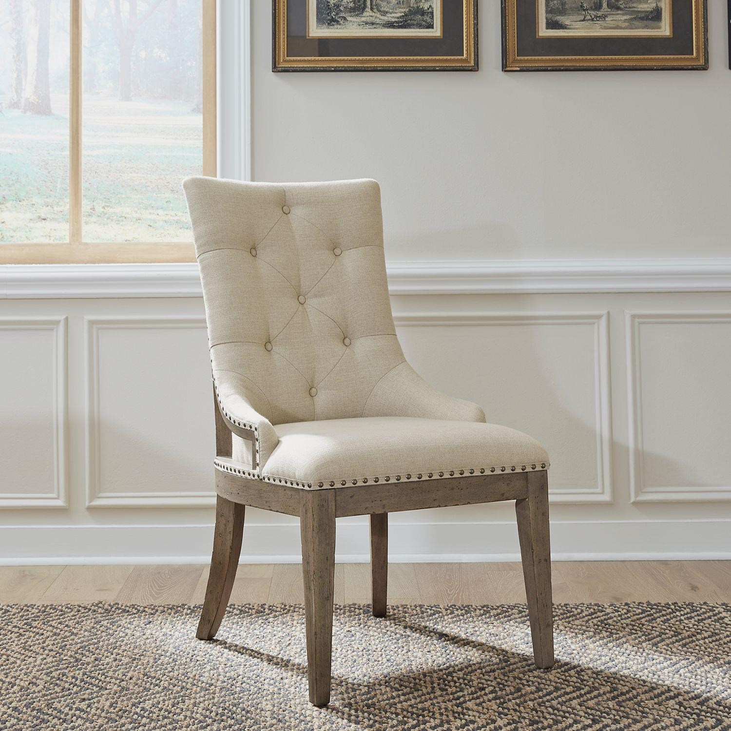 Americana Farmhouse Upholstered Side Chair by Liberty Furniture at Johnny Janosik