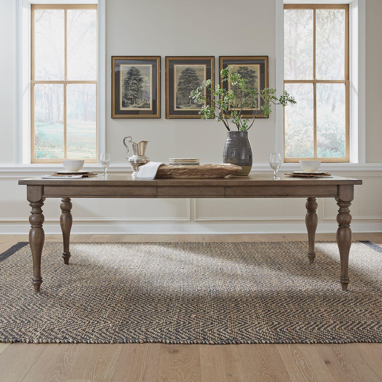 Americana Farmhouse Rectangle Leg Table by Liberty Furniture at Johnny Janosik