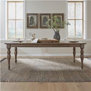 Rectangle Leg Table