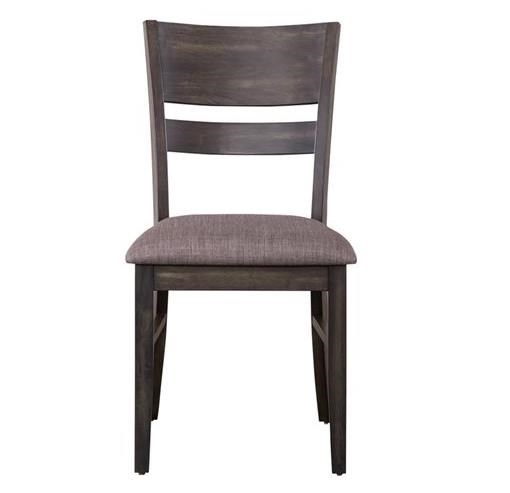 Anglewood Slat Back Upholstered Side Chair by Libby at Walker's Furniture