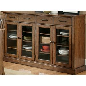 Four Door and Drawer Buffet
