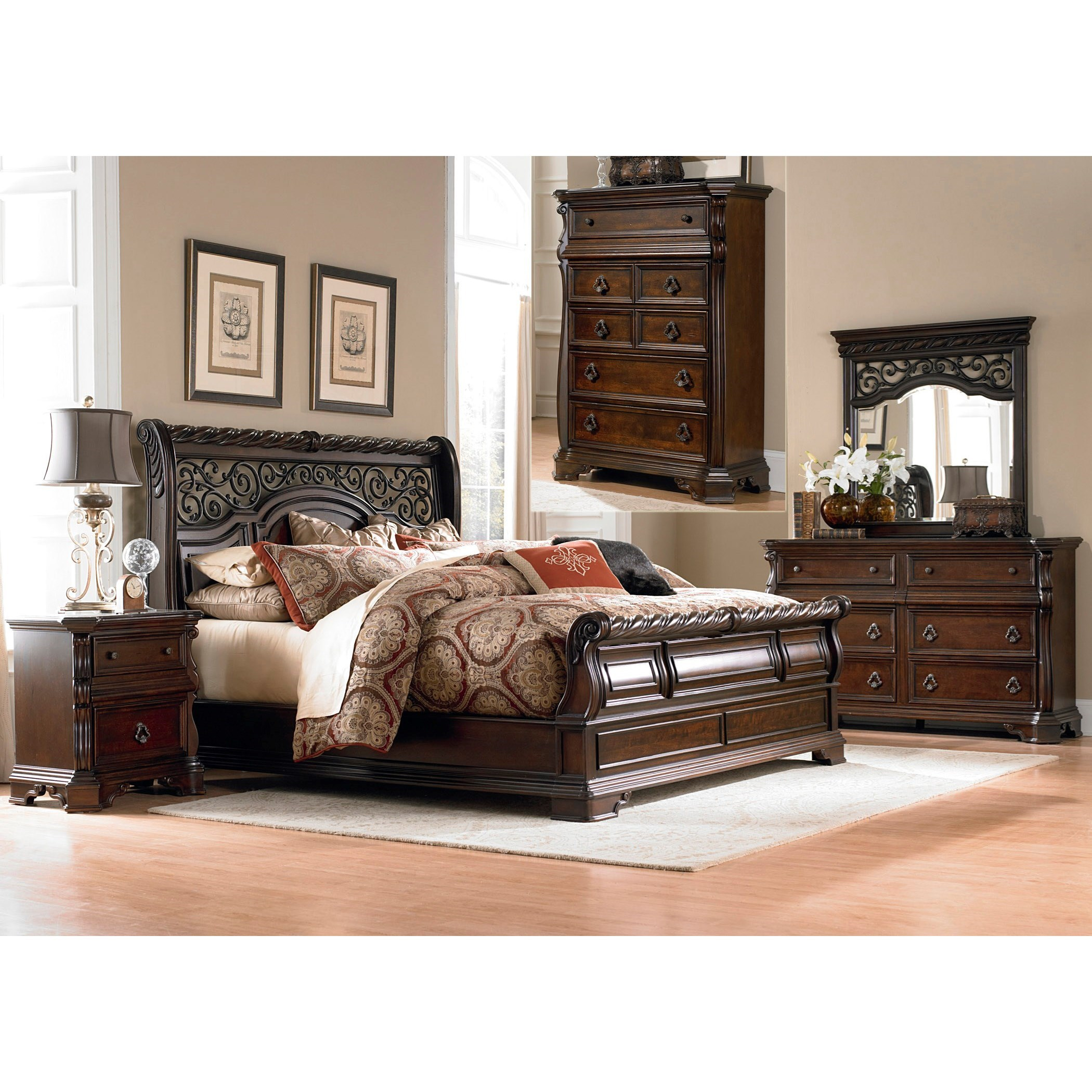 Arbor Place Queen Bedroom Group by Liberty Furniture at Northeast Factory Direct