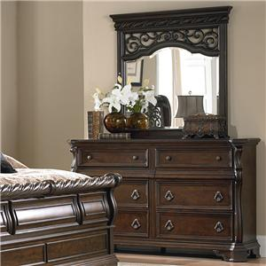 Liberty Furniture Arbor Place Dresser and Mirror