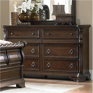 Liberty Furniture Arbor Place 8 Drawer Double Dresser