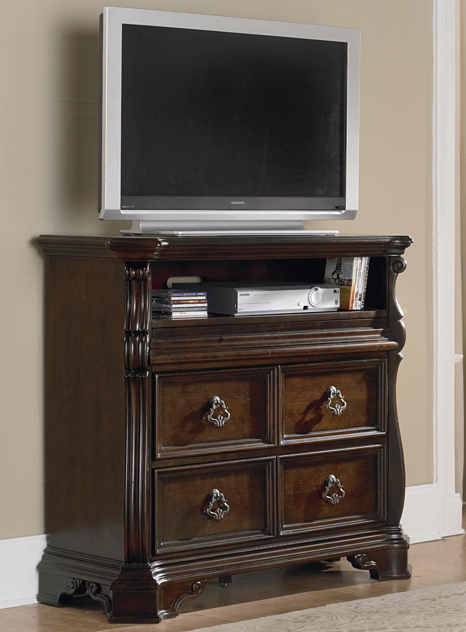 Arbor Place Media Chest by Libby at Walker's Furniture