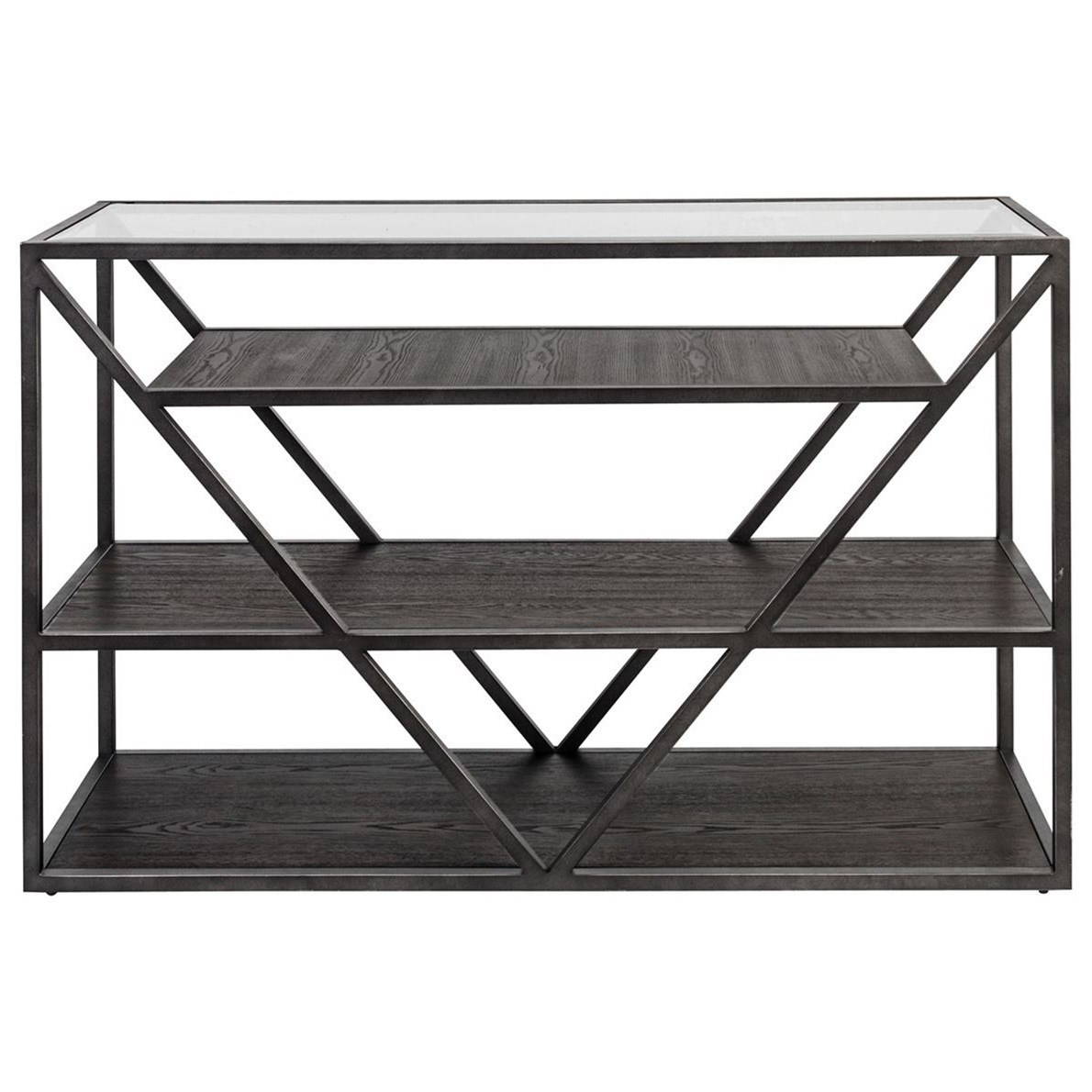 Arista Occasional Sofa Table by Libby at Walker's Furniture