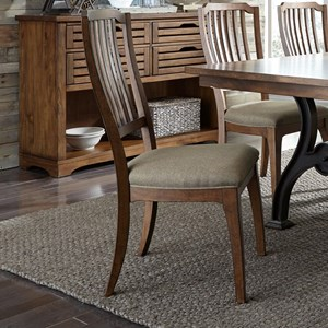 Spindle Back Dining Side Chair