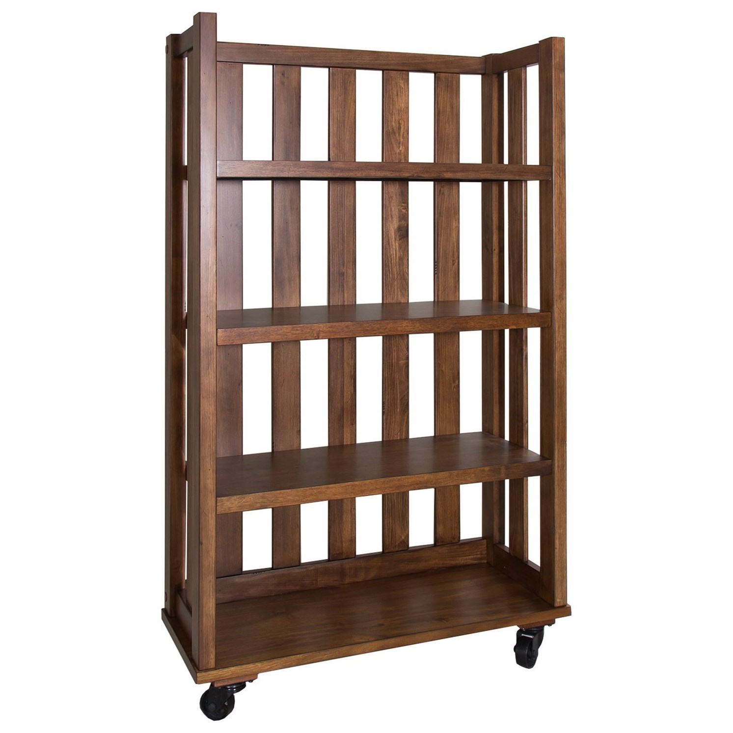 Arlington Open Bookcase by Libby at Walker's Furniture