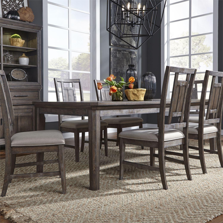 Artisan Prairie 7-Piece Rectangular Table Set by Liberty Furniture at Catalog Outlet