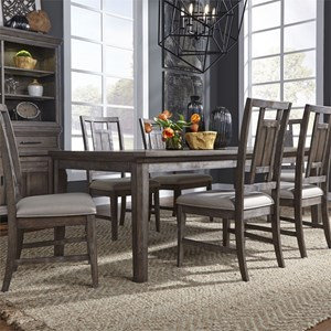 7-Piece Rectangular Table Set