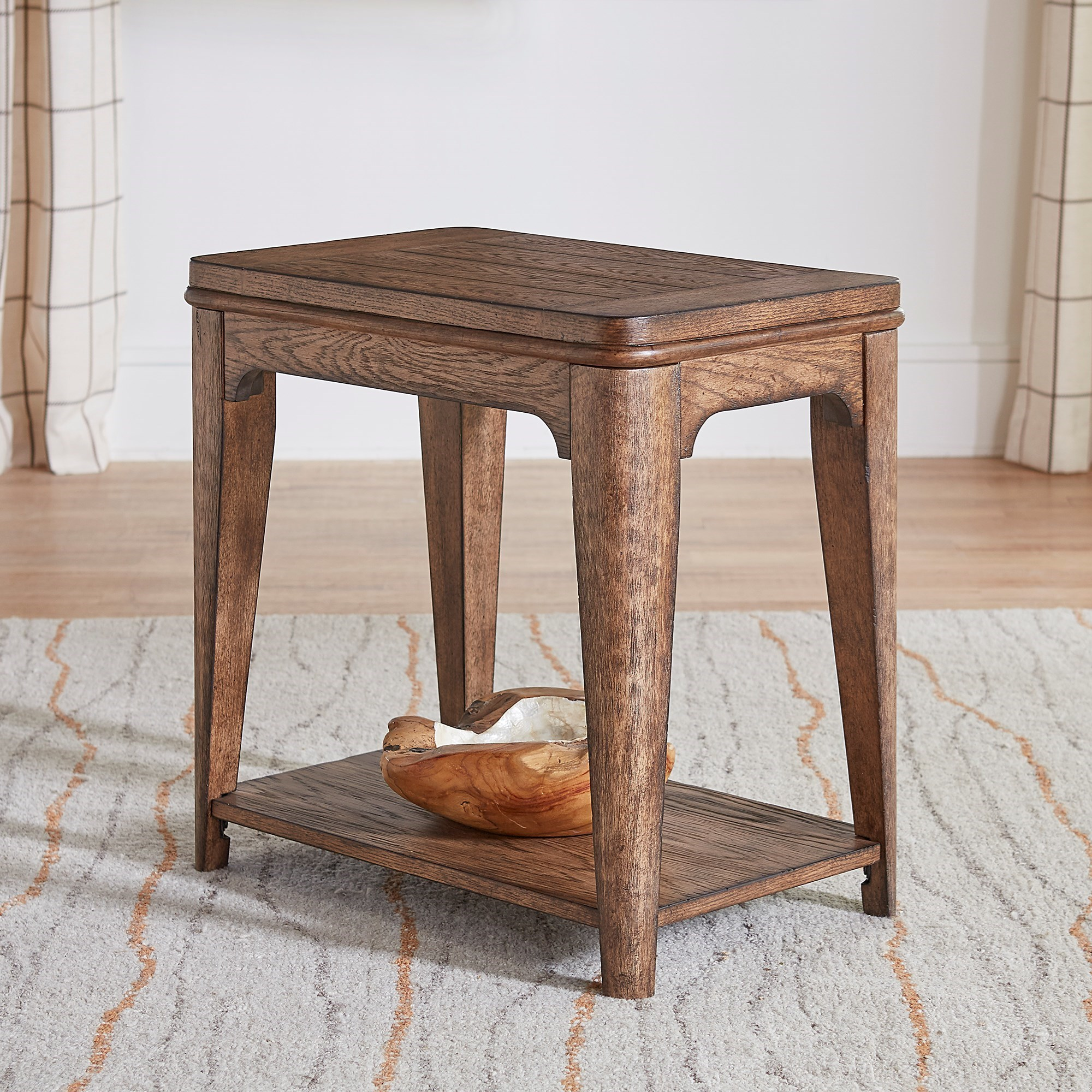 Ashford Chairside Table  by Liberty Furniture at Furniture and ApplianceMart