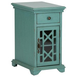 Cottage 1 Drawer 1 Door Accent Cabinet