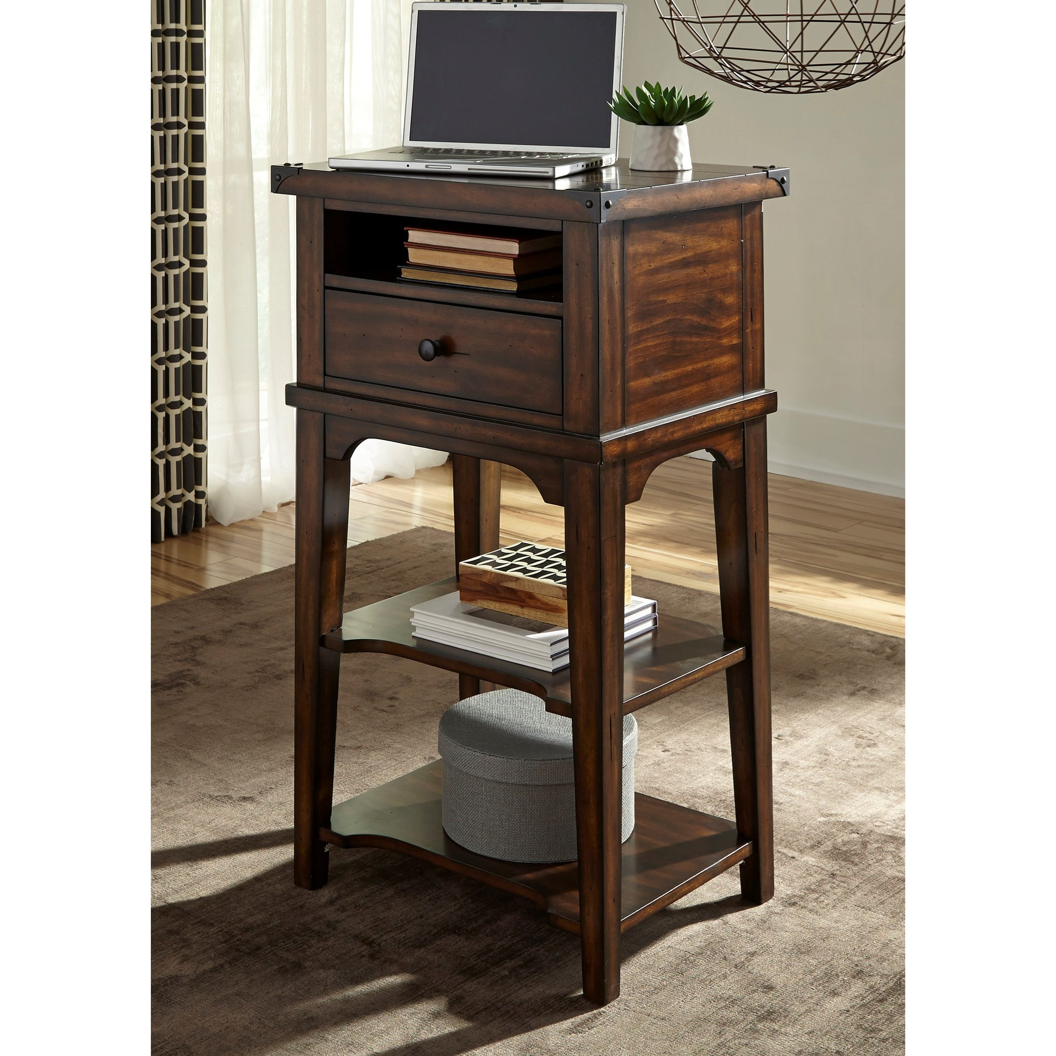 Aspen Skies Stand Alone Laptop Desk by Liberty Furniture at Catalog Outlet