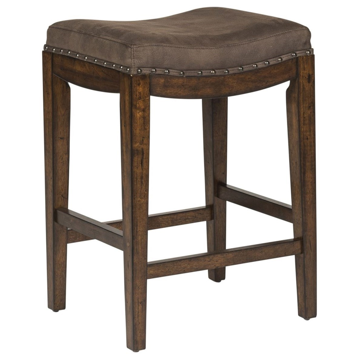 Aspen Skies Upholstered Barstool by Liberty Furniture at Furniture and ApplianceMart