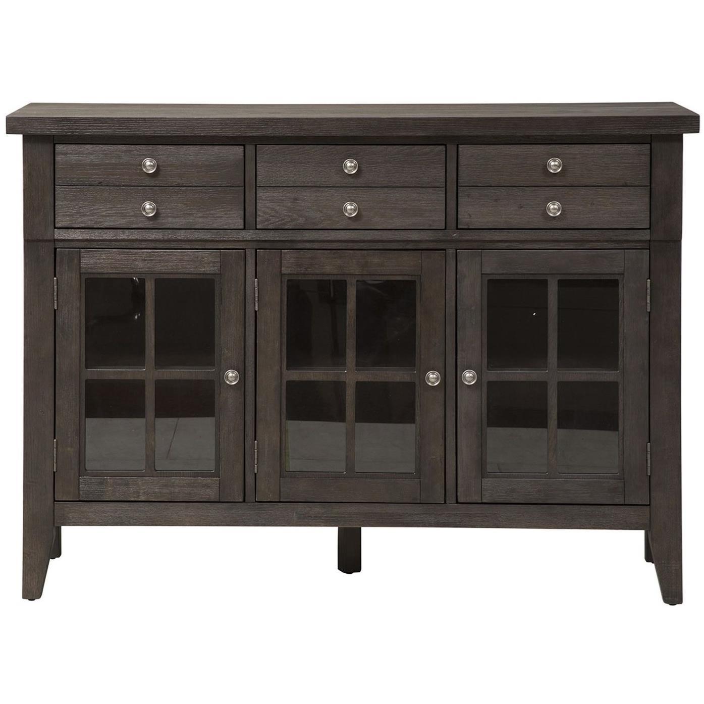 Atwood Creek Buffet by Liberty Furniture at Lapeer Furniture & Mattress Center