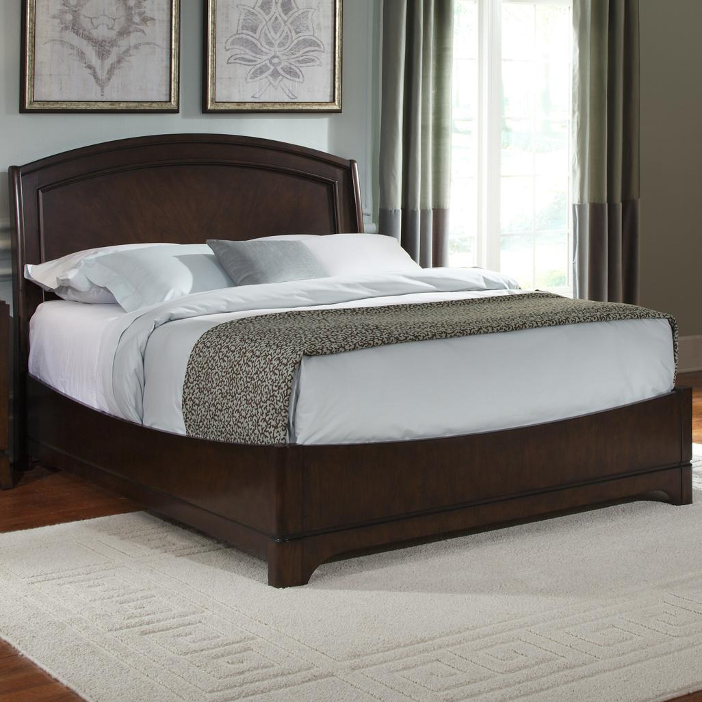 Avalon Queen Platform Bed by Liberty Furniture at Zak's Home