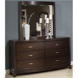 Dresser & Lighted Mirror Set